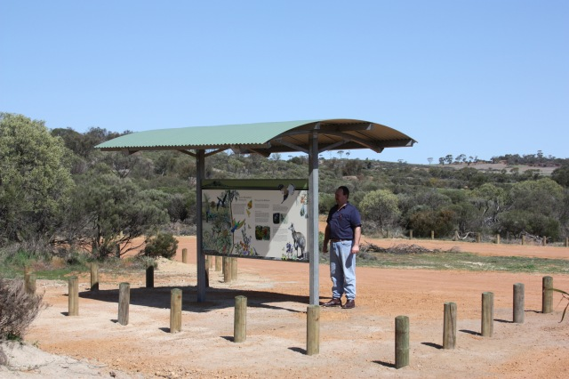 Gathercole Nature Reserve new Entrance and Parking Area