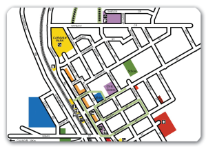 Heritage walk map