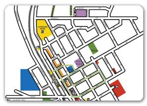 Heritage walk map